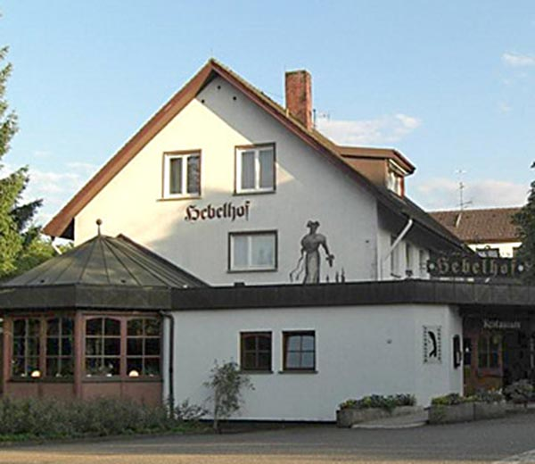 Hotel Hebelhof, Bad Bellingen.